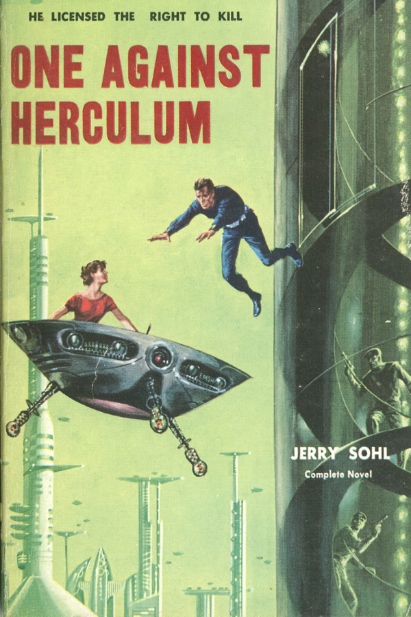 One Against Herculum, by Jerry Sohl