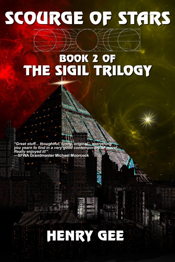 Scourge of Stars: Book Two of The Sigil Trilogy, by Henry Gee